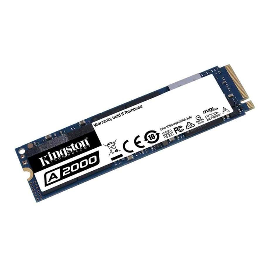 1000GB Kingston A2000 NVMe M.2 SSD