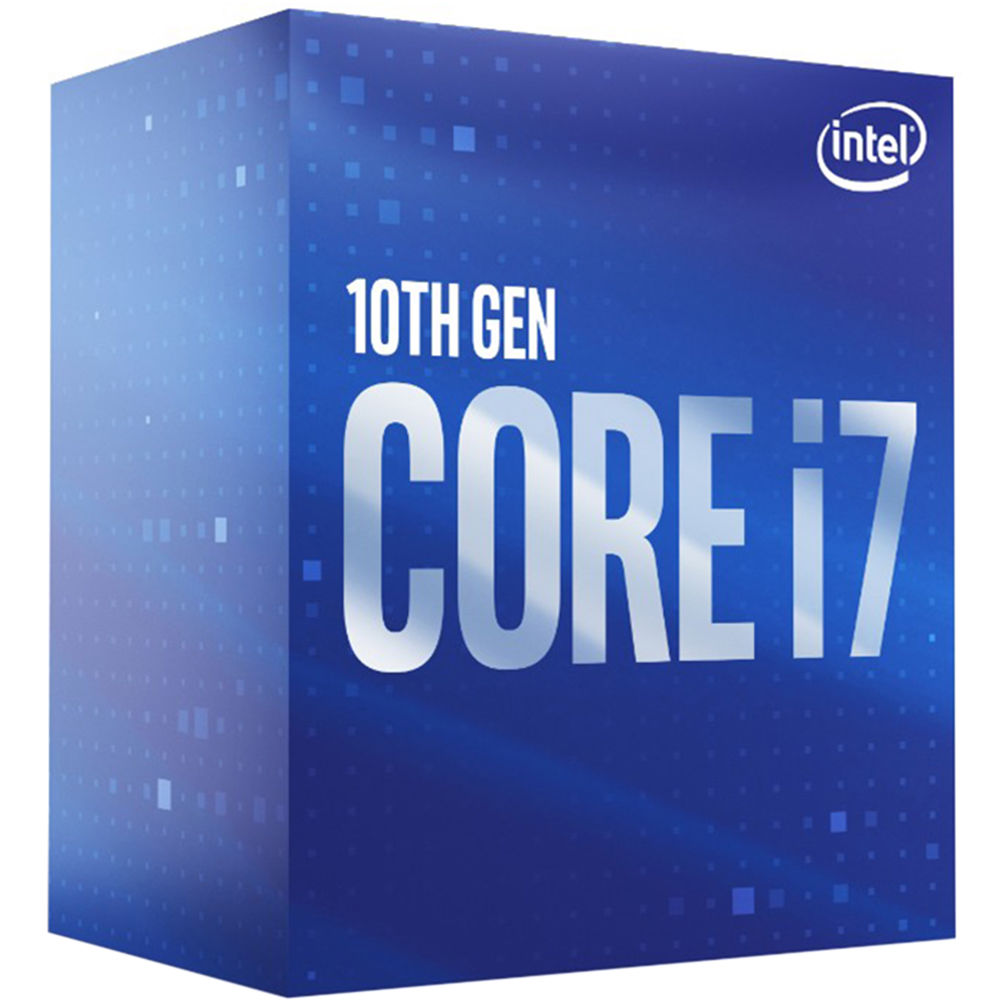 Intel Core i7-10700 8-Cores, 16-Threads 4.8GHz